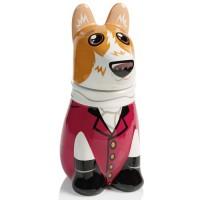 "Karlie Flamingo1030120 Ritzenhoff Vorratsdose ""Gentleman Dog"""